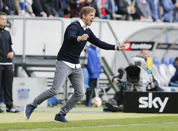 Julian Nagelsmann técnico 28 anos Hoffenheim (Foto: AP)