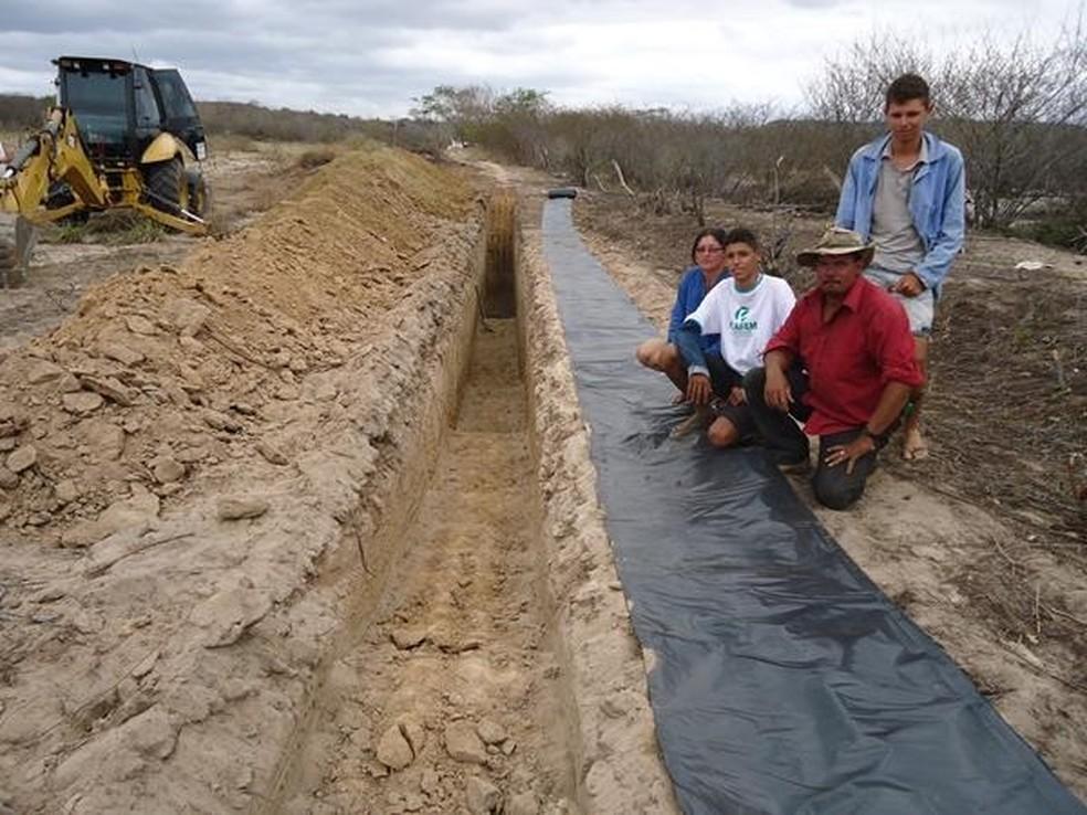254 barragens já foram construídas na região do Trairí  (Foto: Emater/Divulgação)