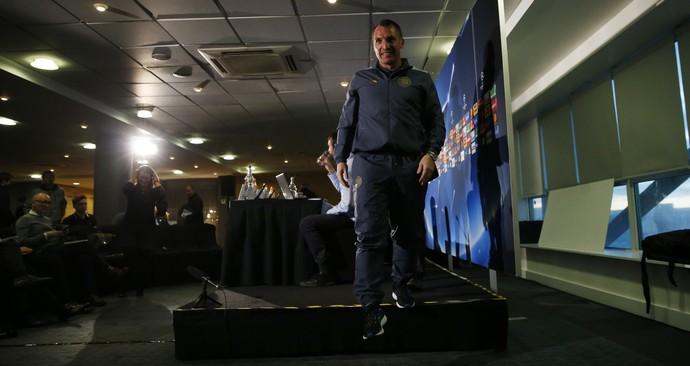Brendan Rodgers técnico Celtic (Foto: Reuters)