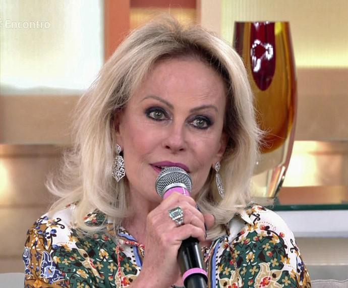 Ana Maria participa do 'Encontro' desta segunda, 28/11 (Foto: TV Globo)