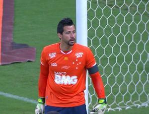 Fábio, goleiro do Cruzeiro (Foto: Reprodução / Premiere FC)