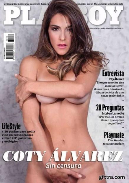 Capa da edição argentina da 'Playboy'