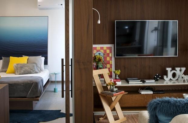 69 m² com cara de 120 m²: casal sem filhos aposta em amplitude (Foto: Rômulo Fialdini/ divulgação)