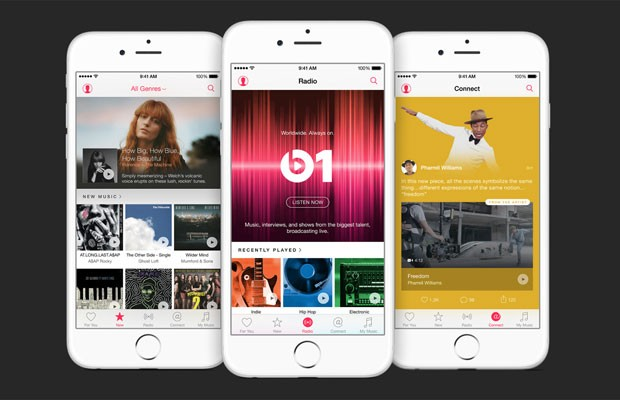 Music, novo serviço de streaming da Apple. (Foto: Divulgação/Apple)