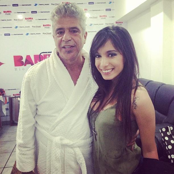 Lulu Santos e Anitta (Foto: Instagram/ Reprodução)