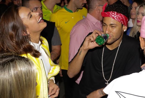 Bruna Marquezine e Neymar (Foto: Claudio Augusto/Brazil News)