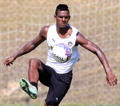 Dankler Treino do Botafogo (Foto: Vitor Silva / SSPress)