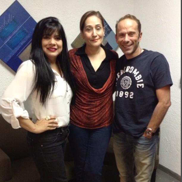 Mara Maravilha, Sônia Abrão e Rafael Ilha (Foto: Reprodução/Instagram)