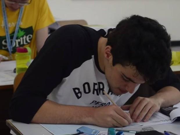 João Paulo, de 17 anos, embarca em agosto para estudar em Harvard (Foto: Arquivo pessoal)
