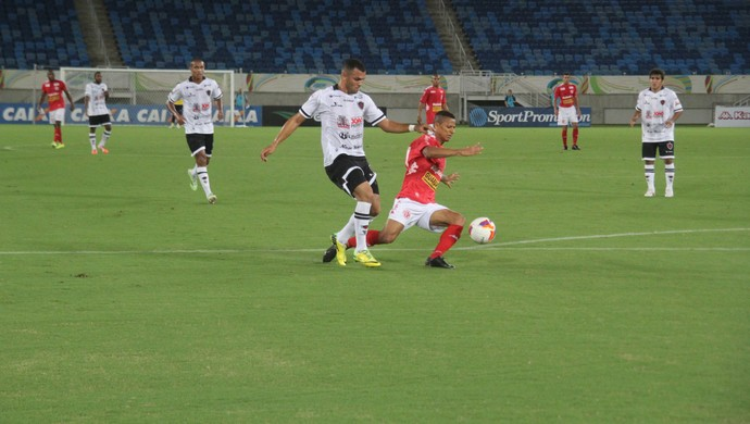 América-RN x Botafogo-PB (Foto: Fabiano de Oliveira)