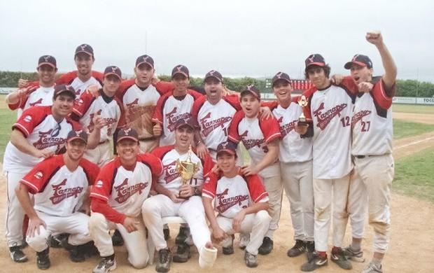 5c5bc4ceb Farrapos no Torneio Nacional Amador de Beisebol 2011 (Foto  Arquivo Pessoal)