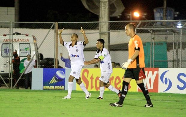 Elionar Bombinha marcou dois gols na vitória do ASA sobre o Oeste (Foto: Ailton Cruz/ Gazeta de Alagoas)