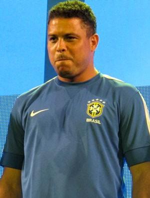 Ronaldo com a camisa da Seleção (Foto: Felippe Costa )