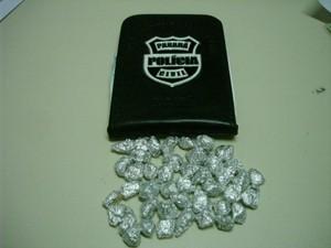 Polícia encontrou crack em mochila de criança (Foto: Divulgação/Polícia Civil)