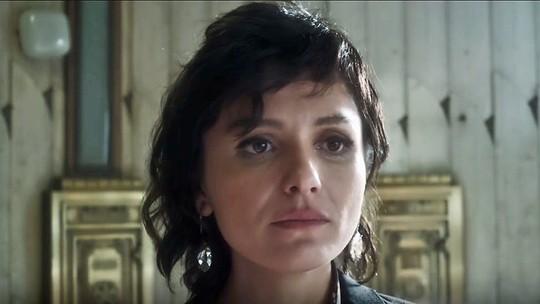 Monica Iozzi comenta visual de Celeste e revela preferências: 'Adoro cabelo preto'