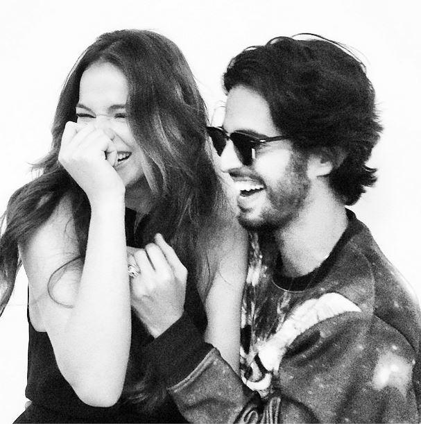 Bruna Marquezine e André Nicolau (Foto: Instagram/Reprodução)