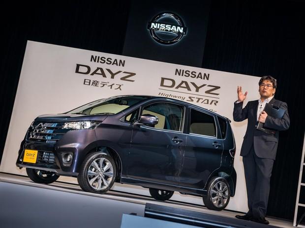 Dayz e o eK Wagon são vendidos pela Nissan e pela Mitsubishi, respectivamente (Foto: Divulgação)
