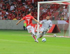 Internacional x Santos Beira-Rio Brasileirão Inter Nilmar Vladimir