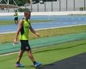 Bota treina com Montillo e mudança na zaga; Marcelo deixa o time