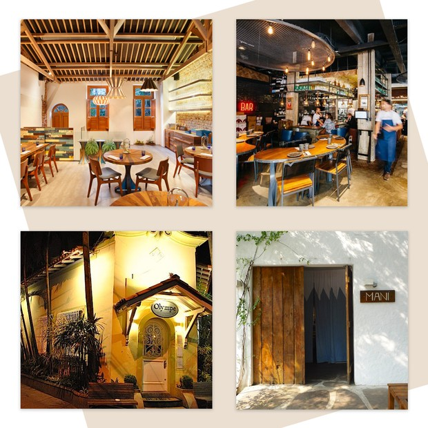 Lasai, A Casa do Porco, Olympe e Maní (Foto: Reprodução)