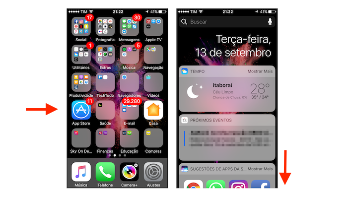 how to add widgets on iphone ios 10