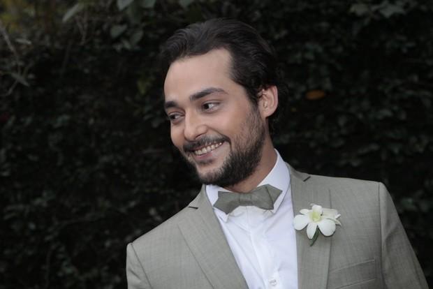 Casamento do Eduardo Sterblitch  (Foto: Isac Luz / Ego)