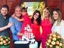Rafaella Justus comemora seu sétimo aniversário em família