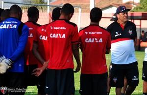 Atlético-GO - treino (Foto: Guilherme Salgado / Site Oficial do Atlético-GO)