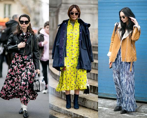 Várias mandeiras de combinar os vestidos com casacos (Foto: Imaxtree)