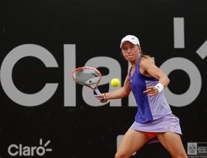 Johanna Larsson x Gabriela Cé segunda rodada do Aberto do Rio de tênis (Foto: Agif)