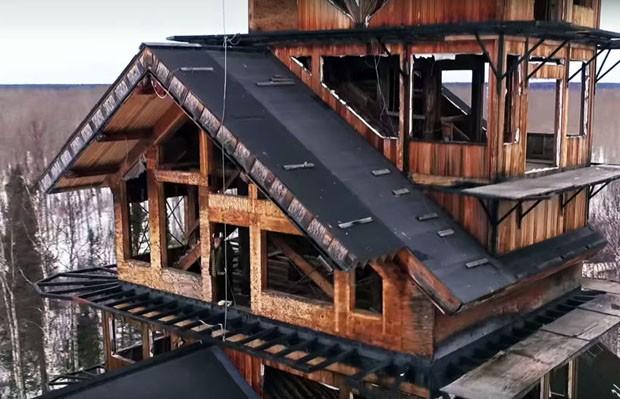 Casa no céu Phillip Weidner, (Foto: Divulgação)