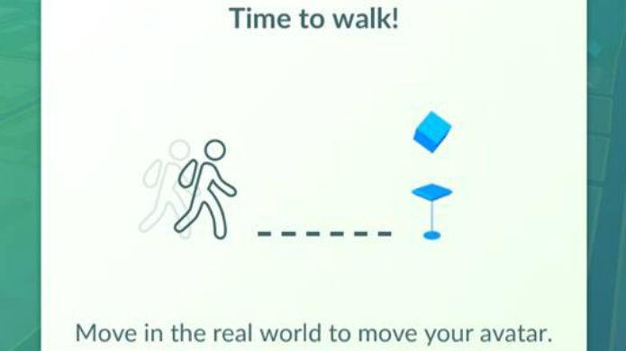 Pokémon Go: É preciso andar para encontrar o Pikachu (Foto: Reprodução/Thomas Schulze)
