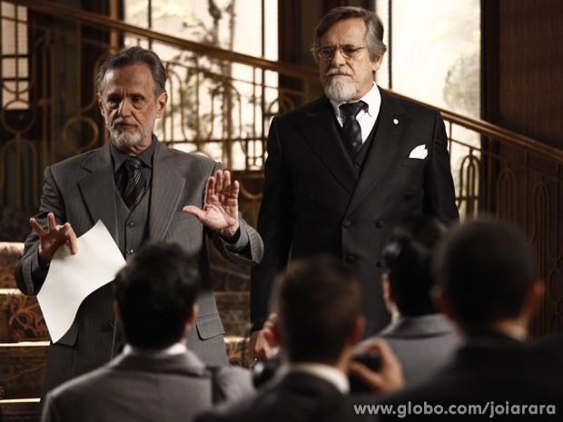 Ernest faz retratação e assume que contratou Rosa para difamar Mundo (Foto: Inácio Moraes/TV Globo)