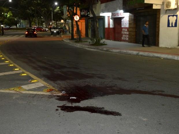 Crimes aconteceram no bairro Feu Rosa, na Serra (Foto: Carlos Alberto Silva/ A Gazeta)