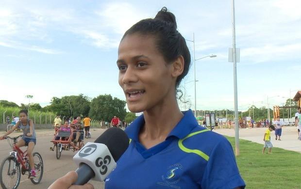 Paratleta Adriana Camila foi pré-convocada para representar o Brasil no Jogos Panamericano de Jovens  (Foto: Globo Esporte)