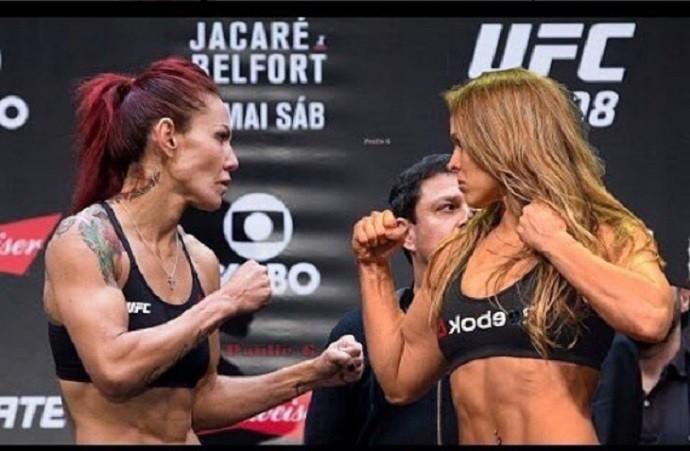 Cris Cyborg, Ronda Rousey, UFC (Foto: Reprodução/Instagram)