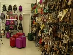 Filiada de uma rede nacional de calçados projeta crescimento (Foto: Reprodução/TV Rio Sul)