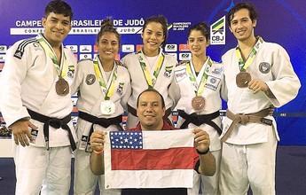 Amazonas fatura cinco medalhas e faz história no Brasileiro Sênior de Judô