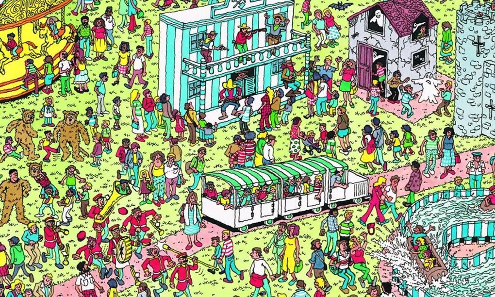 Onde está Wally? (Foto: Reprodução)