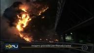 Incêndio atinge vegetação em São Conrado