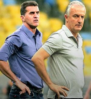 Carrossel Mancini e Dorival (Foto: GloboEsporte.com)