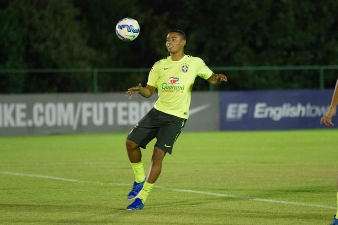 Gabriel Jesus -  Seleção Brasileira sub-23 (Foto: Aldo Carneiro Costa)