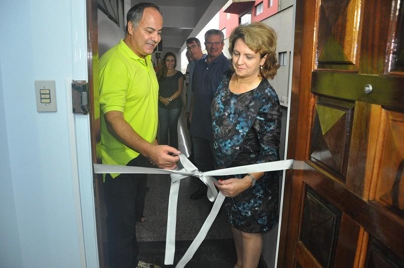 Roberto Clemente Santini e Sandra Kennedy (Foto: divulgação)