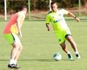 Walter treina na vaga de Léo Lima, e Goiás pode ter três atacantes, sábado