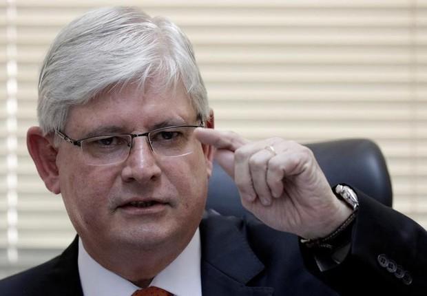 O procurador-geral da República, Rodrigo Janot (Foto: Ueslei Marcelino/Reuters)