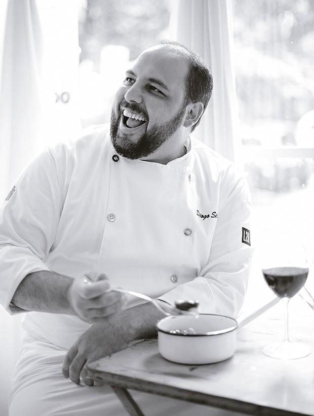 Chef Diogo Silveira (Foto: Rogério Voltan/Editora Globo)