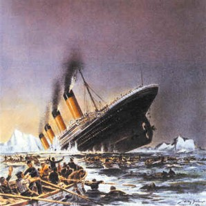 titanic tragédia