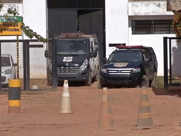 Presídio de Luziânia, Goiás (Foto: Reprodução/ TV Anhanguera)