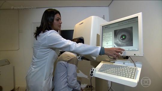 Vista embaçada pode ter relação com problemas de graves de saúde