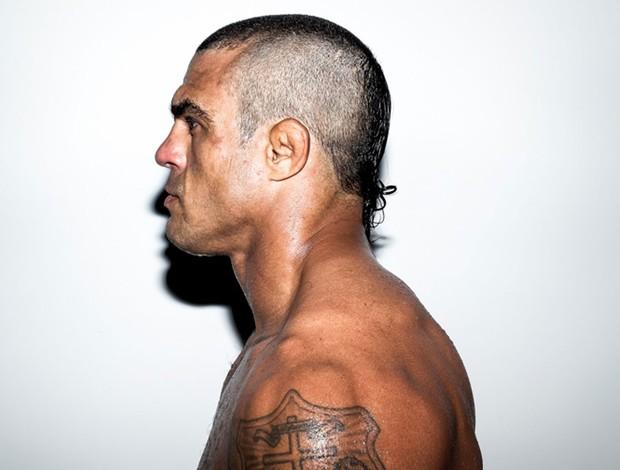 Vitor Belfort Novo corte de cabelo   (Foto: Ryan Loco/Ryanloco.com)